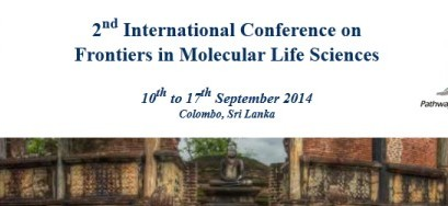 2nd International Conference on Frontiers in Molecular Life Sciences