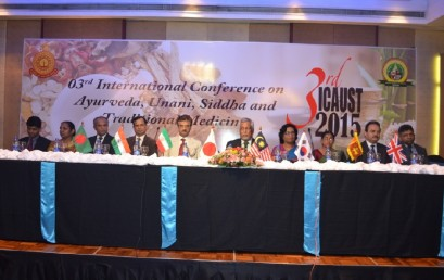 3rd International Conference on Ayurveda, Unani, Siddha and Traditional Medicine – Image Gallery