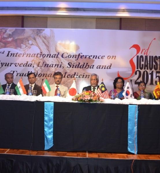 3rd International Conference on Ayurveda, Unani, Siddha and Traditional Medicine – Image Gallery