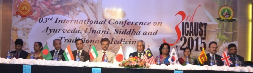 3rd International Conference on Ayurveda, Unani, Siddha and Traditional Medicine – 2015
