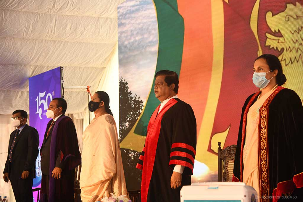150th Anniversary Commemorative Ceremony of the Colombo Medical School