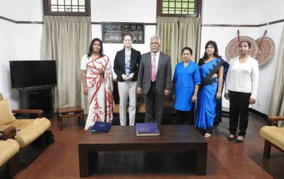 Aimalfree Foundation Switzerland to collaborate with University of Colombo