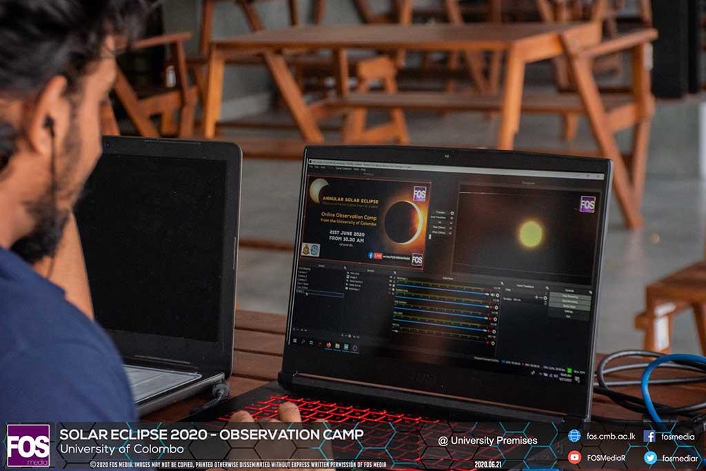 Solar Eclipse 2020 Observation Camp