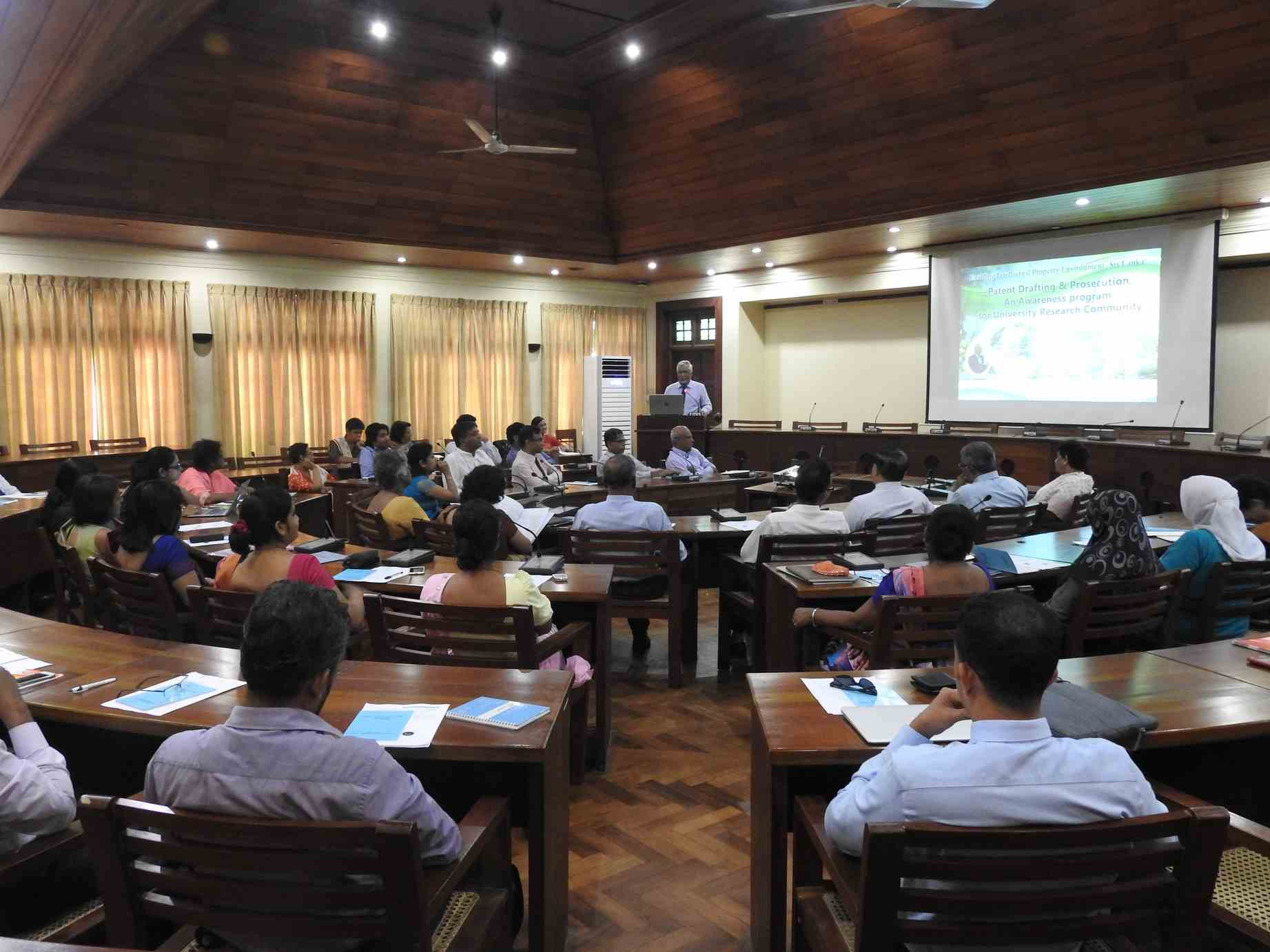 A workshop on Patent Drafting & Prosecution – An Awareness Program for University Research Community