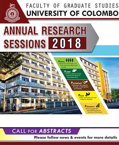 Annual Research Sessions 2018 – Faculty of Graduate Studies