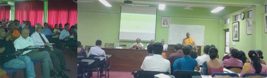 Annual Research Symposium 2015 – Department of Sinhala