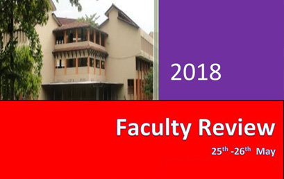 Annual Review Workshop, Faculty of Arts