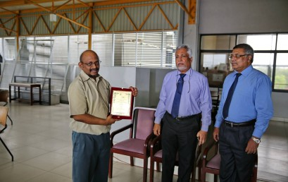 Service Appreciation of Professor Gihan Wikramanayake