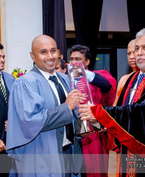 The Award Ceremony for Diploma in Travel & Tourism Economics and Hotel Management