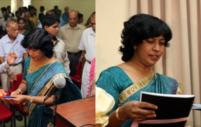 Dr. Chamari Weeraratne launched 2 Braille children's story books