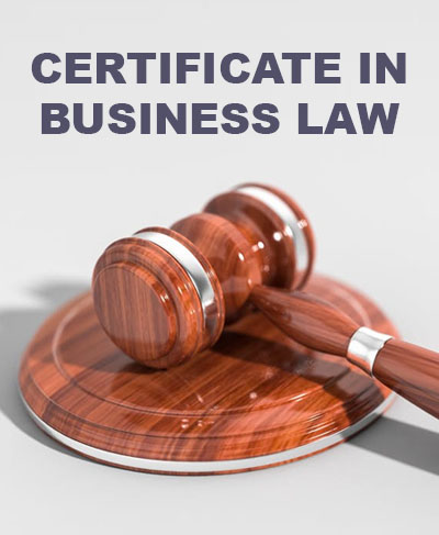 Certificate in Business Law Course