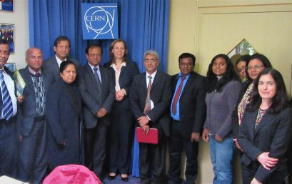 CERN to assist Sri Lanka to develop Physics teaching and scientific collaboration
