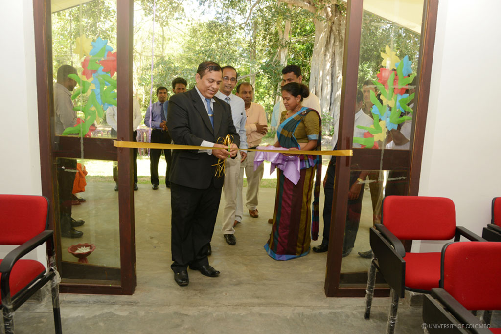 Ceremonial Opening of Rural Health Research Centre, Katharagama