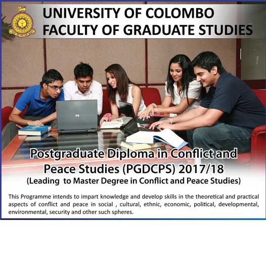 Postgraduate Diploma Conflict and Peace Studies