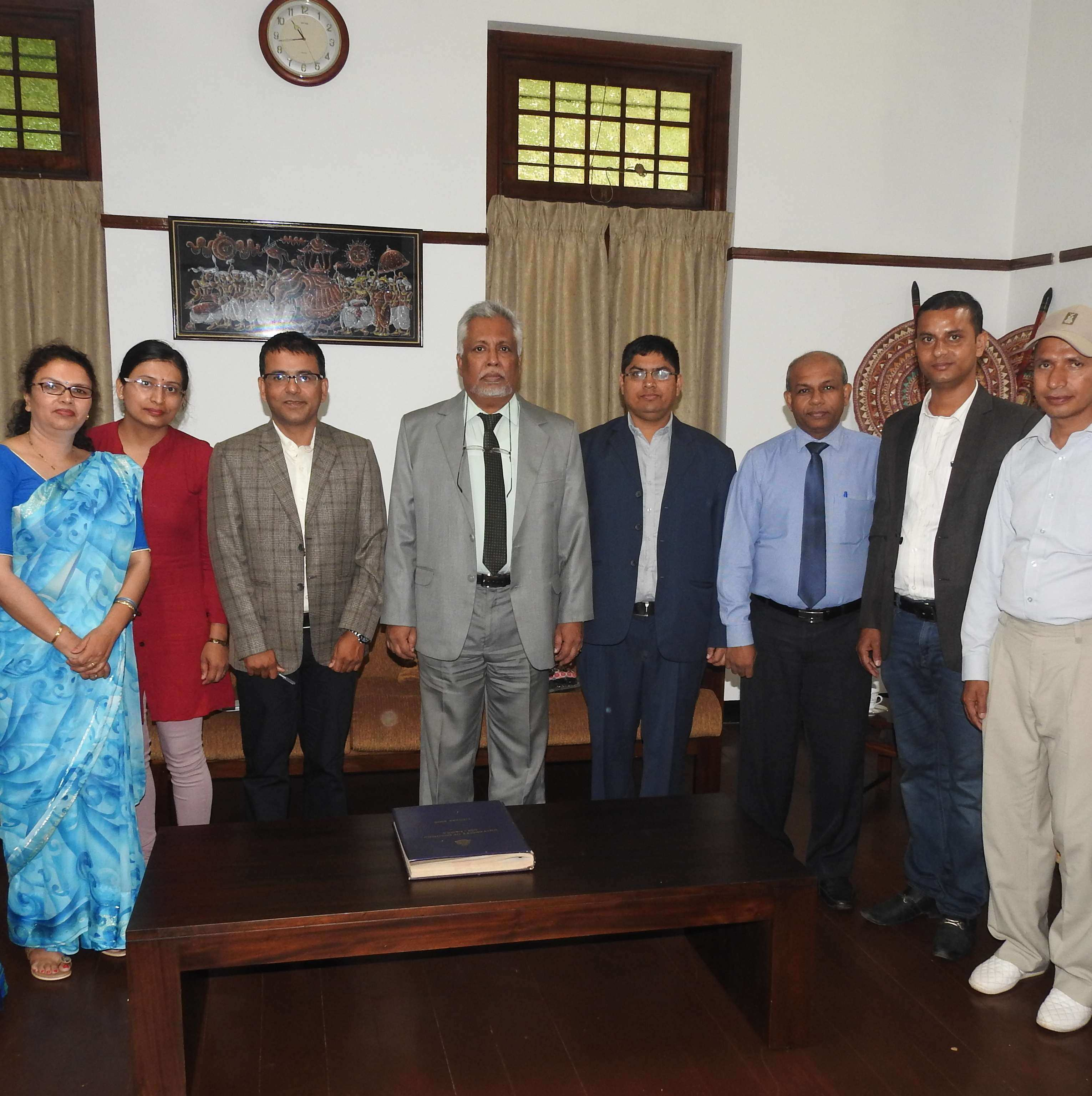 A delegation from University Grants Commission, Nepal visited University of Colombo