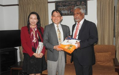 Delegation from Taipei Medical University, Taiwan
