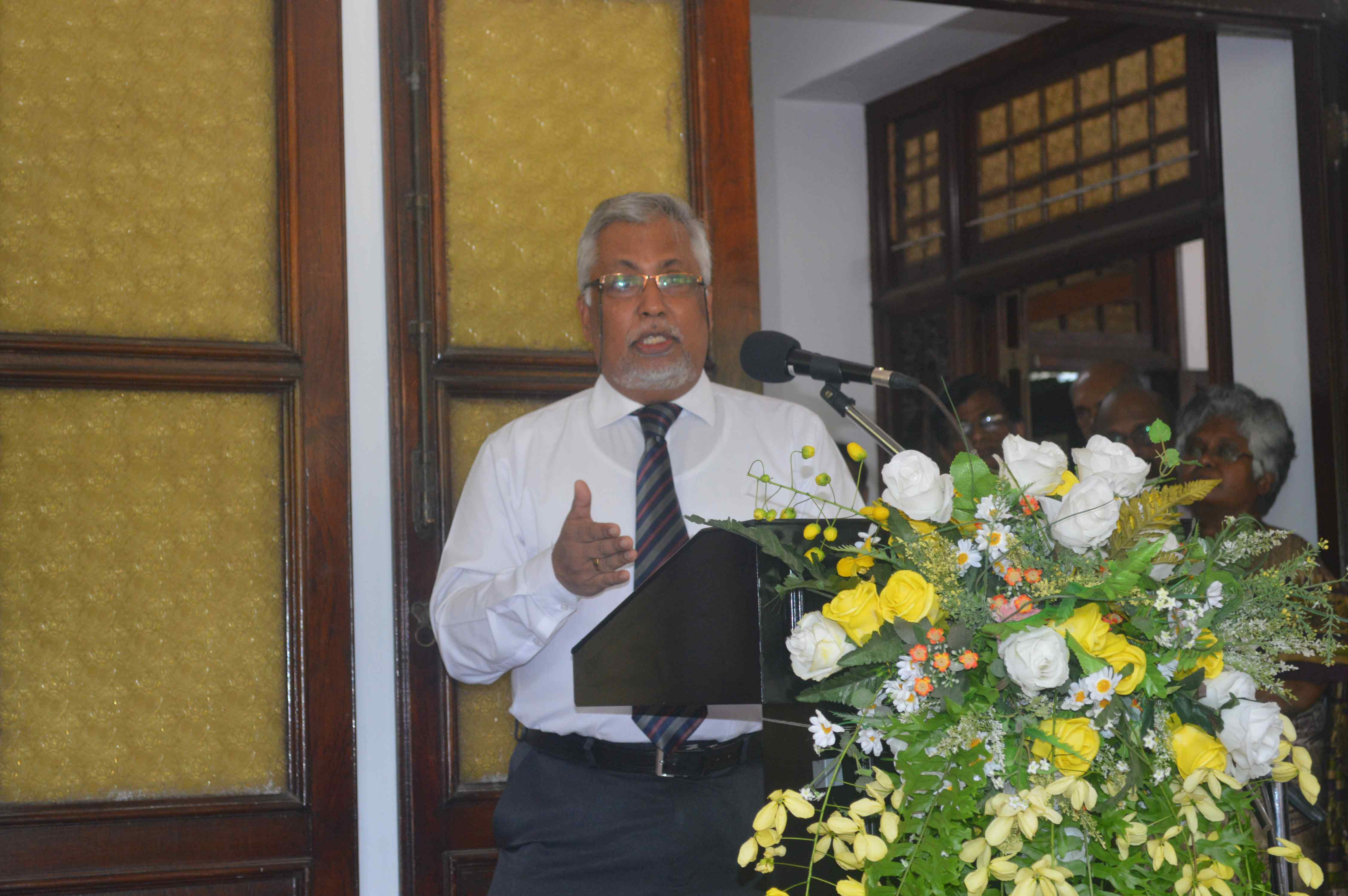 Newly appointed Vice-Chancellor Senior Prof. Lakshman Dissanayake