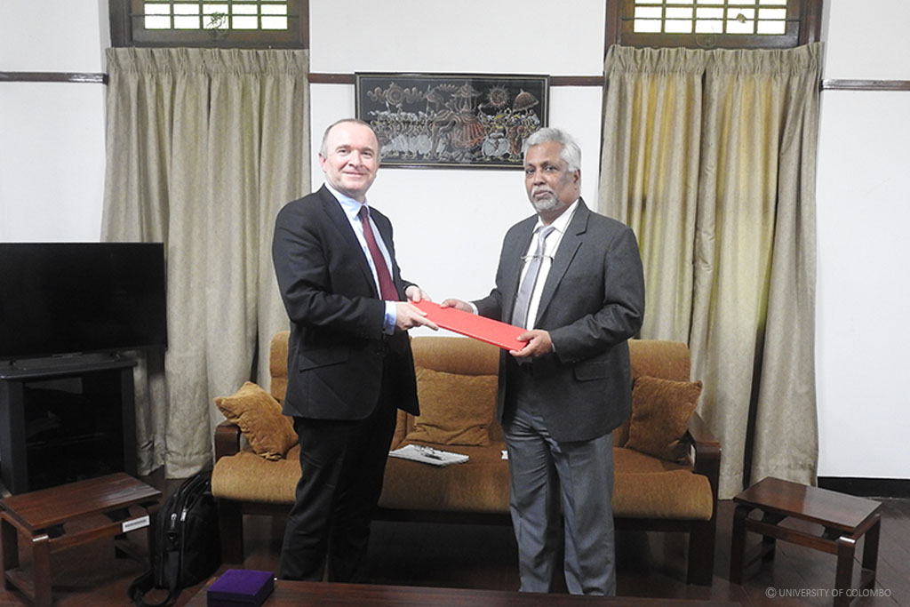 Delegation from Griffith University visits University of Colombo