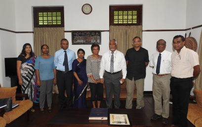 Delegation from North Carolina State visits University of Colombo