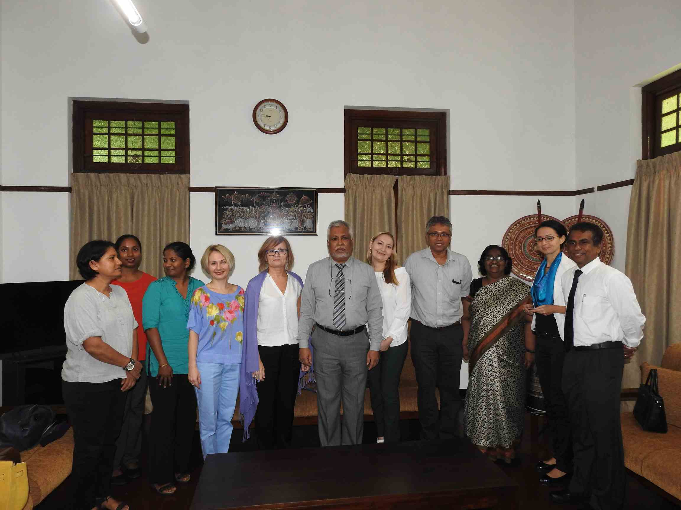 Delegation from Peoples Friendship University, Russia visited University of Colombo