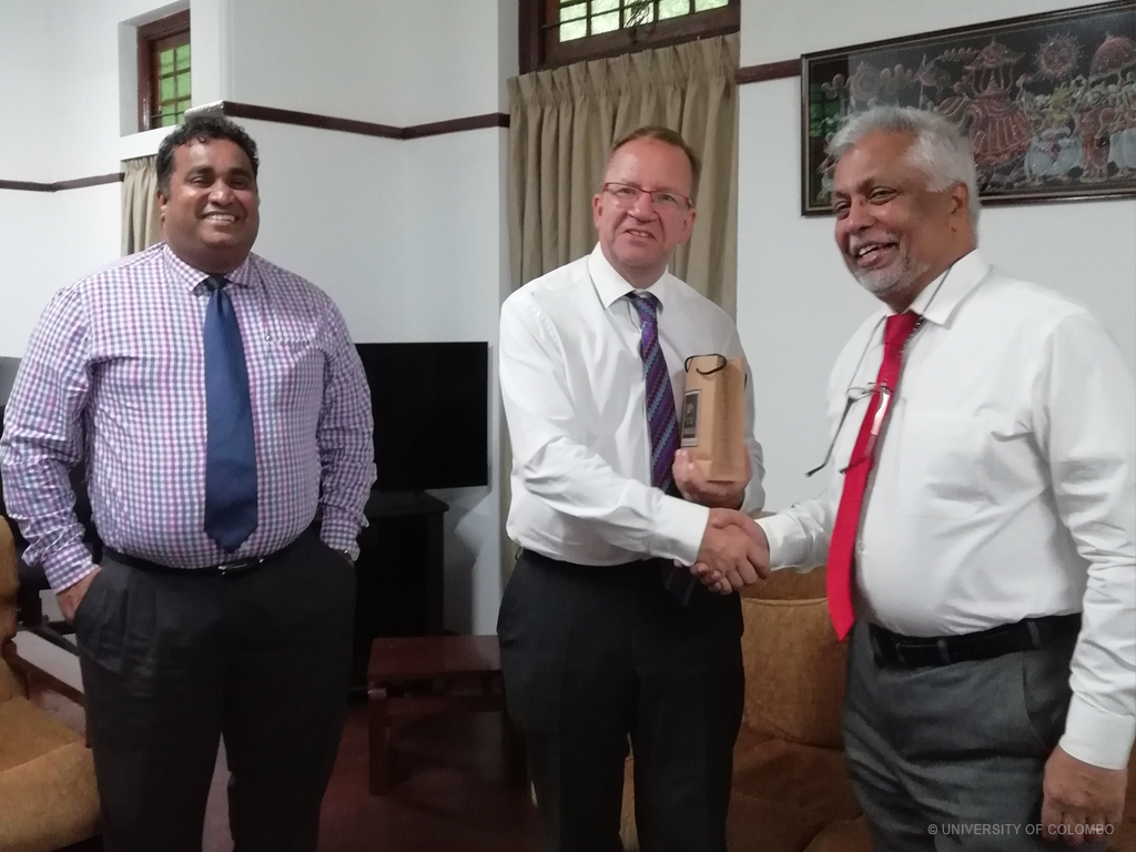 Delegation from University of Leicester visited University of Colombo
