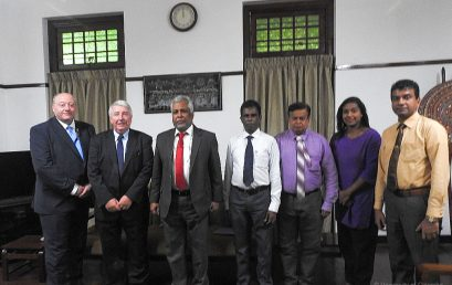 Delegation from WHO visits University of Colombo