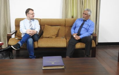 Deputy Director, Polish Institute visited University of Colombo