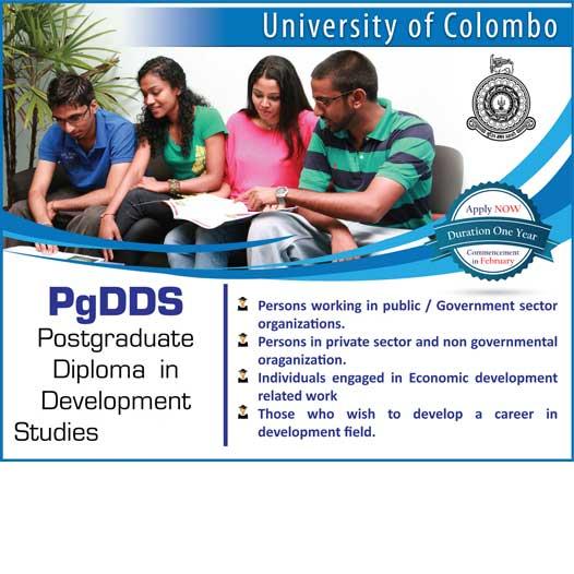 Postgraduate Diploma in Development Studies