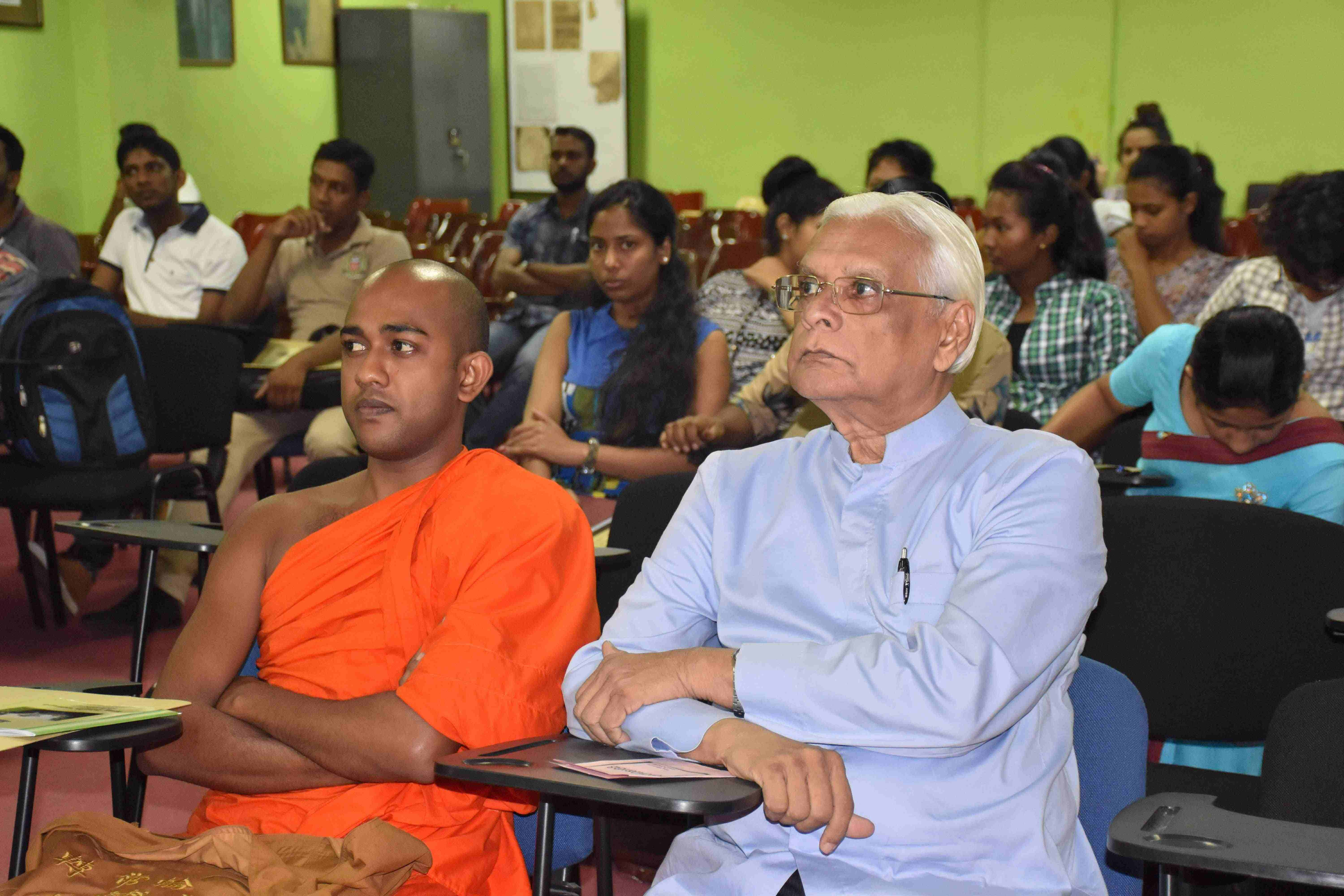 Inauguration Ceremony of Diploma in Sinhala 2017 / 2018