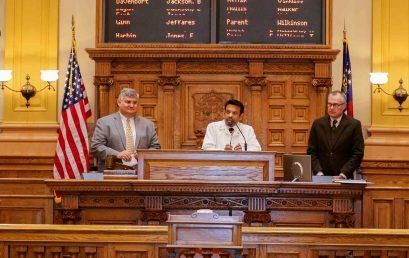 Professor Indran Indrakrishnan honoured by Georgia Senate