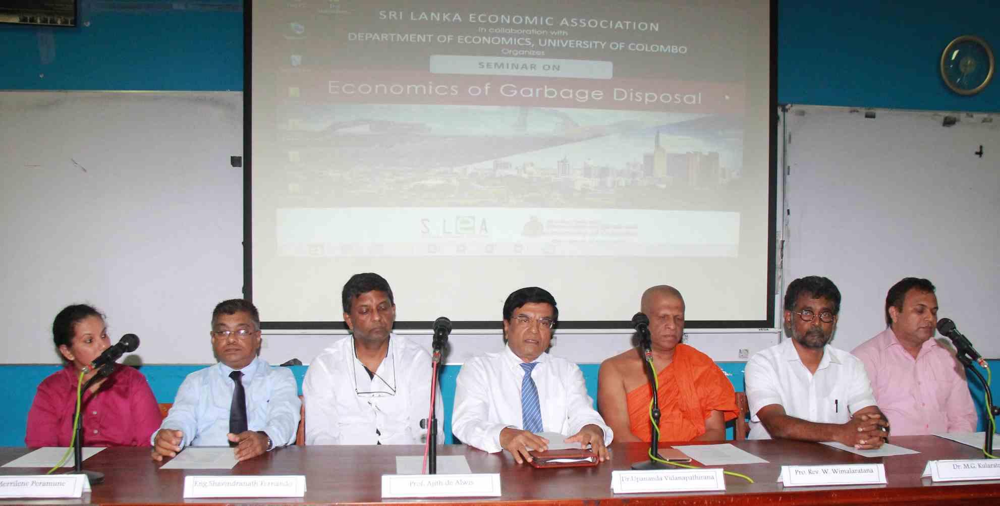 Seminar on Economics of Garbage Disposal
