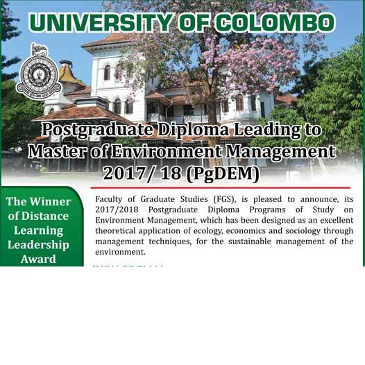 Postgraduate Diploma in Environment Management
