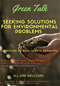 Seeking Solutions for Environmental Problems.