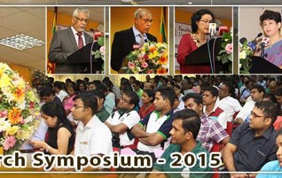 Annual Research Symposium 2015 – Faculty of Graduate Studies
