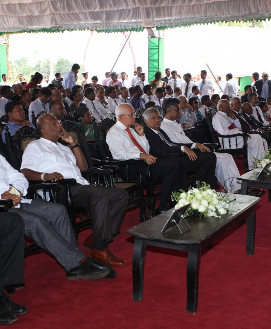 The establishment of the Faculty of Technology complex, University of Colombo