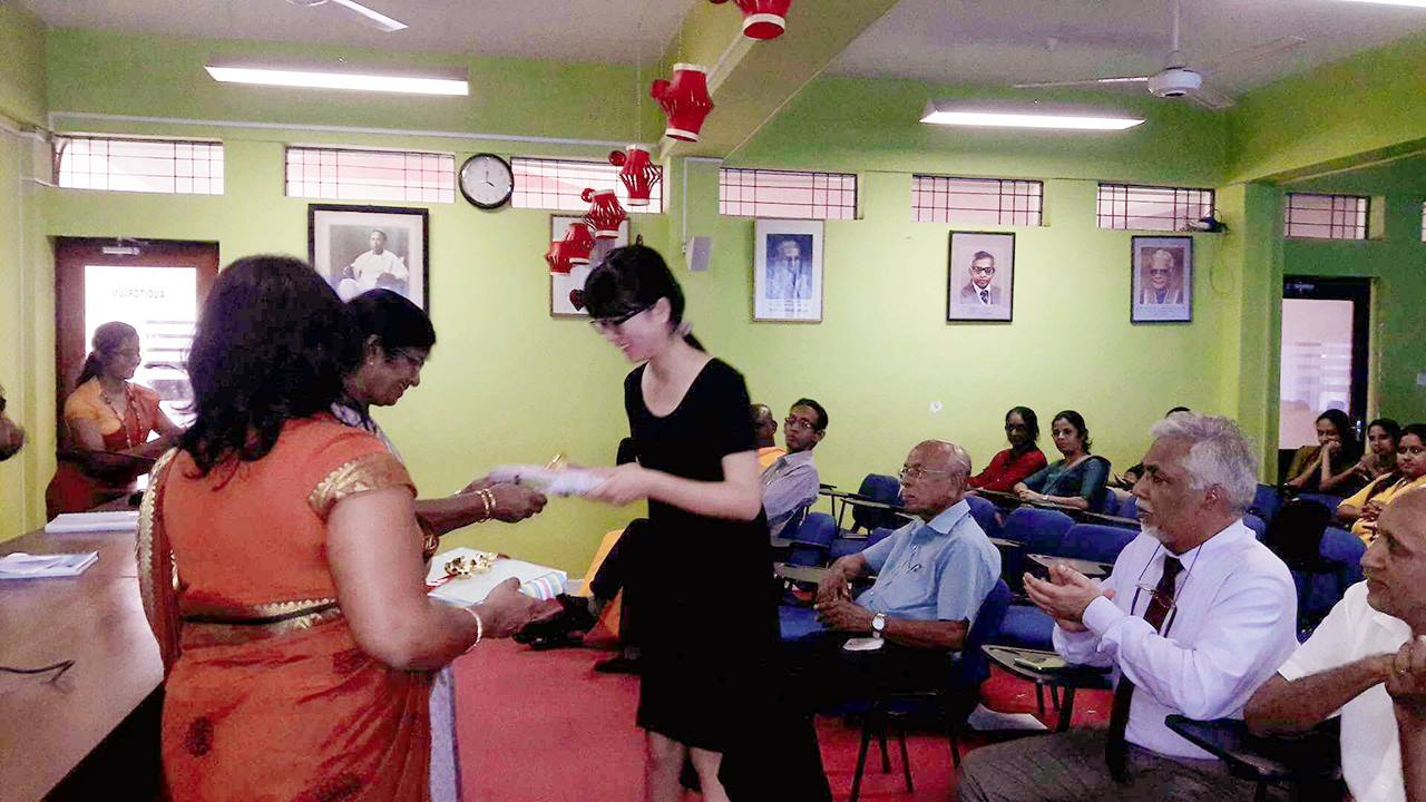 Farewell Ceremony of the First Batch of visiting Chinese scholars