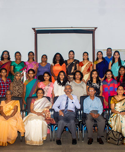 Farewell of Professor Laal Jayakody