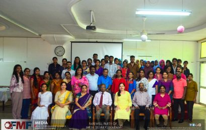 Farewell to Mr. N.Selvakkumaran