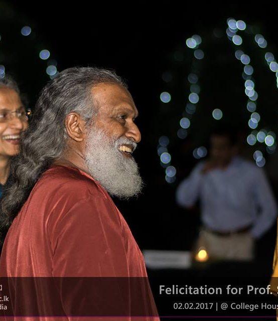 Felicitation for Professor Sarath Kotagama