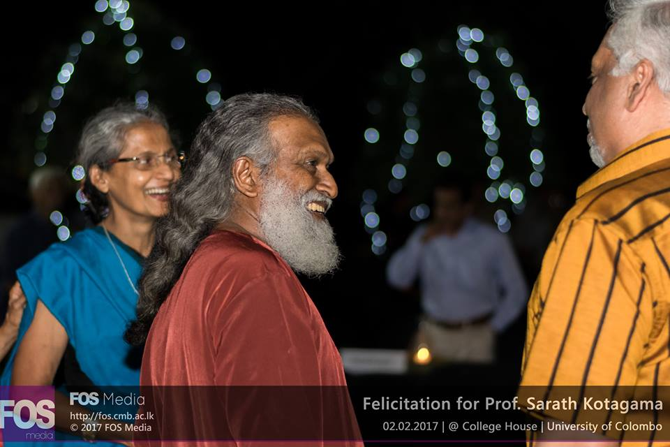 Felicitation for Professor Sarath Kotagama