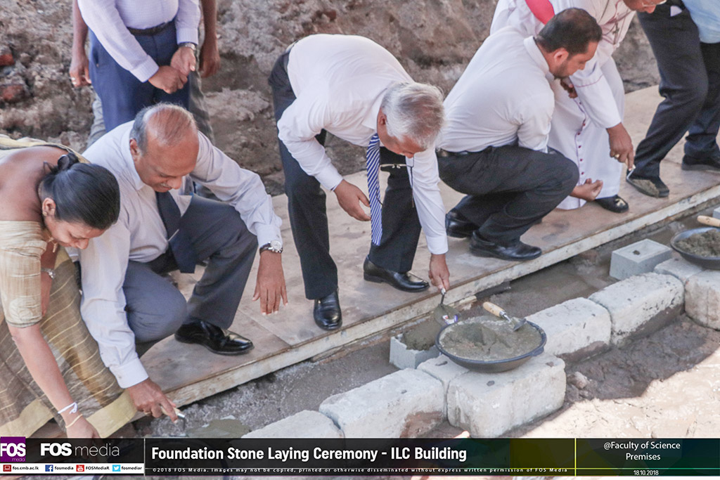 Foundation Stone Laying Ceremony of the Information and Learning Centre