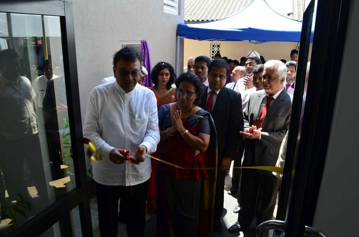 Opening of the 'Sarasavi Madura' New Girls Hostel at the Institute of Indigenous Medicine, University of Colombo