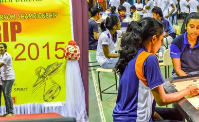 Grip to Grip 2015 – Carrom Tournament