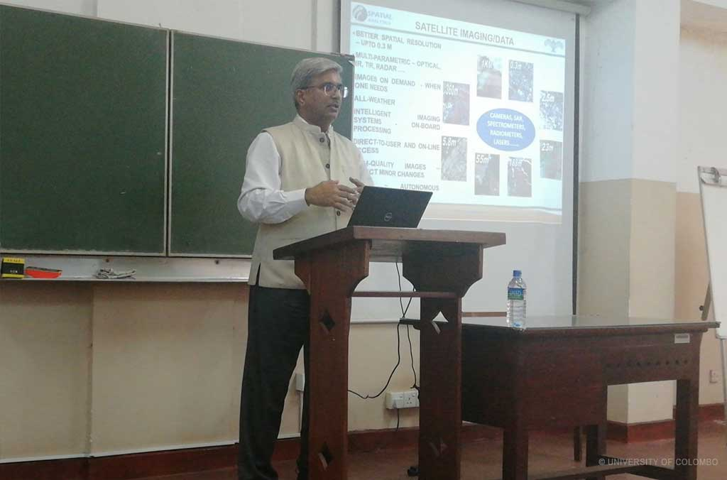 "Guest Lecture on ""Advances and New Space Applications of Earth Observation and GIS"""