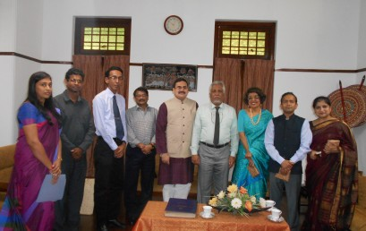 A High Level Delegation from  ICCR visited University of Colombo