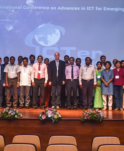 The 18th International Conference of Advances in ICT for Emerging Regions