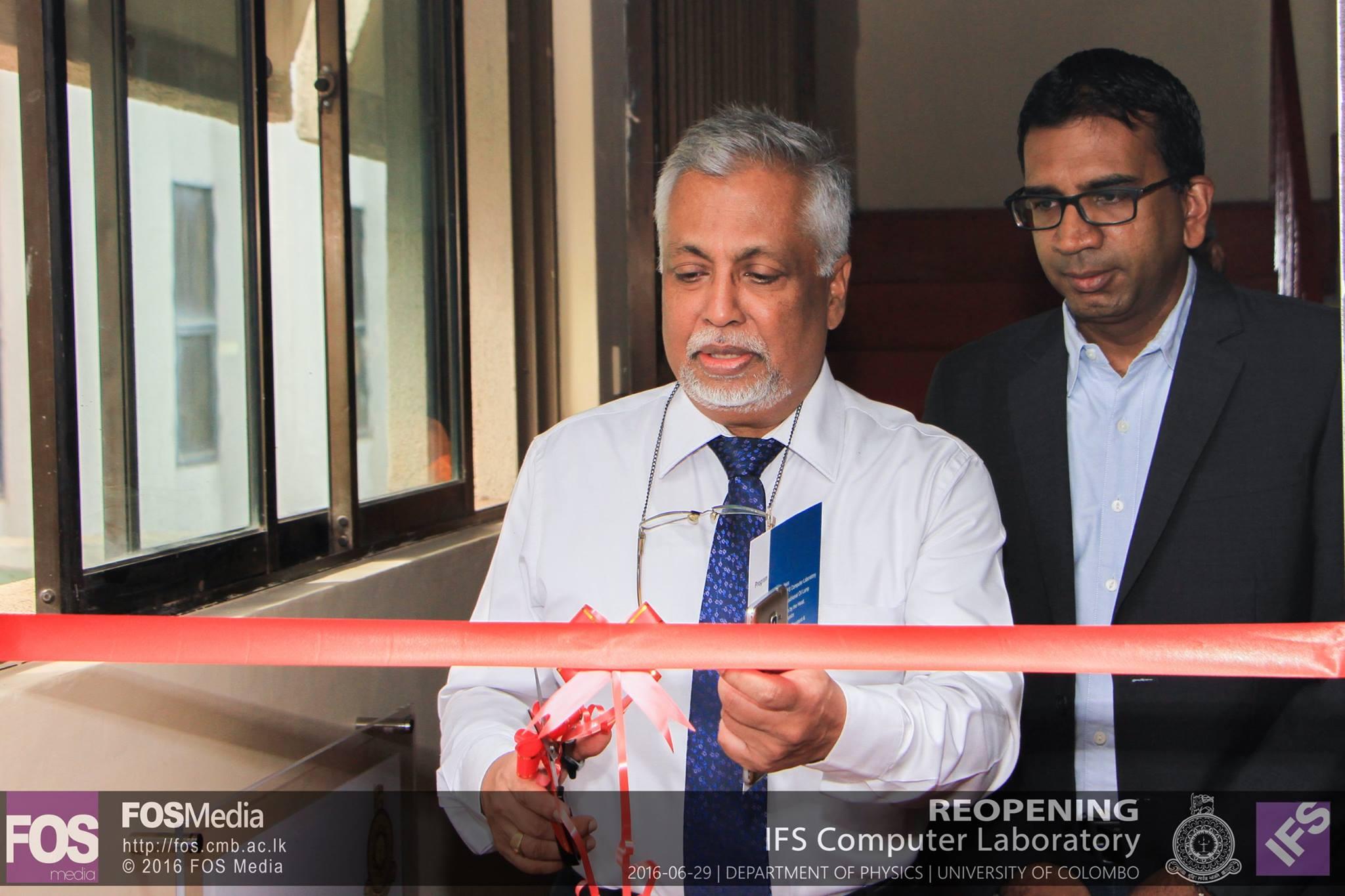 Opening of the IFS Computer Laboratory and Reading room