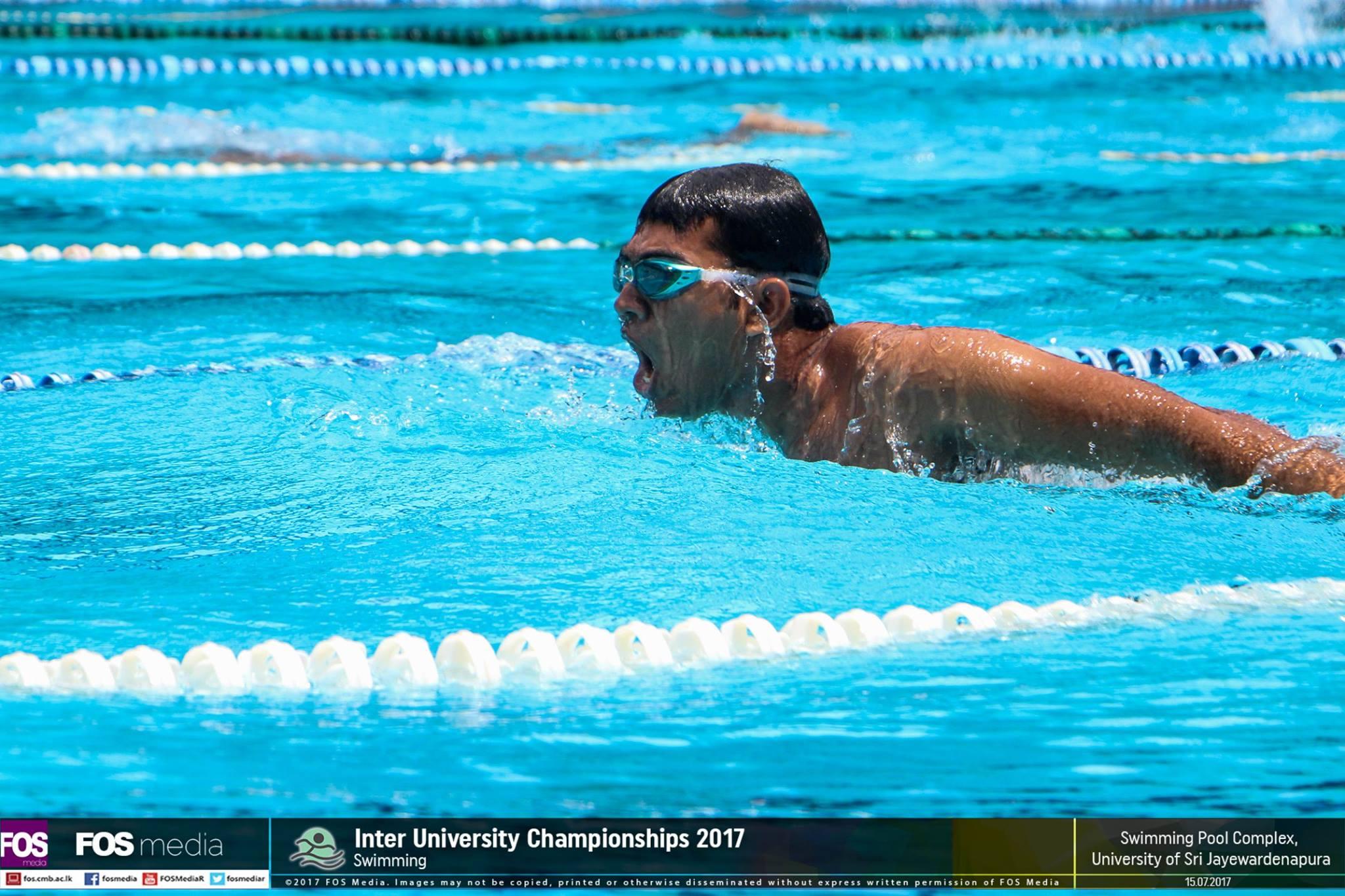 Inter University Championship – Swimming