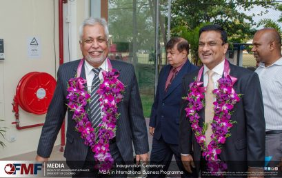Inauguration Ceremony of Master of Business Administration in International Business