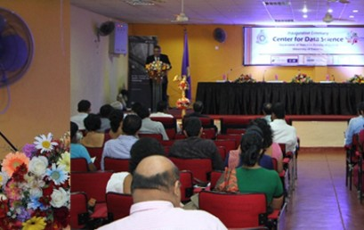 Inauguration Ceremony of the Center for Data Science